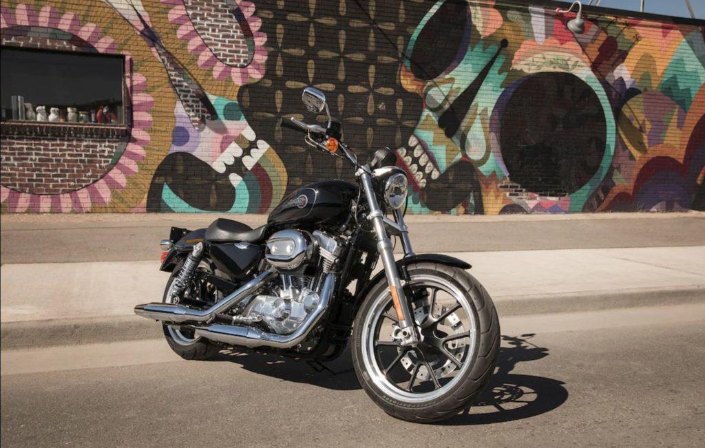 女子に人気のアメリカンバイク